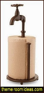 Spigot Paper Towel Holder