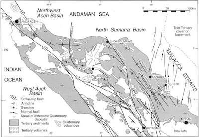 Structure Map of Sumatran Island