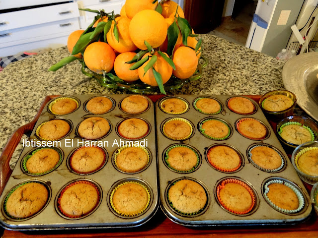 recette facile Muffin chocolat orange