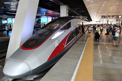 China Set To Develop New Bullet Trains That Can Travel At Speeds Of Up To 400 Km/H
