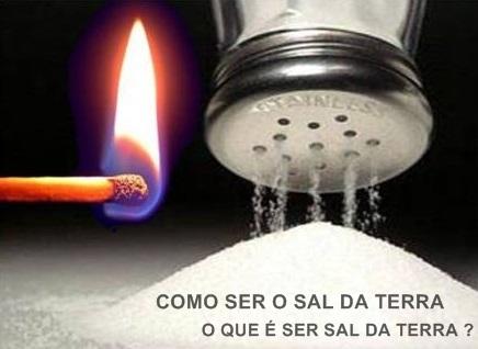 COMO SER O SAL DA TERRA