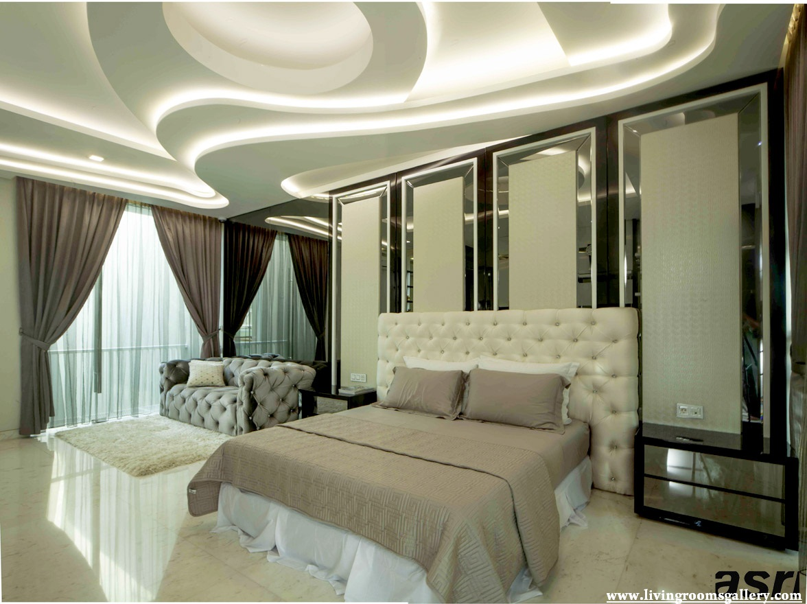 25 false ceiling designs for kitchen bedroom and dining for Designs bedroom