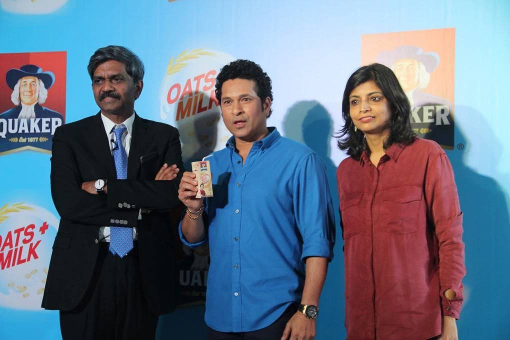 Sachin Tendulkar At Quaker Oats Milk Shake Launch Gallery