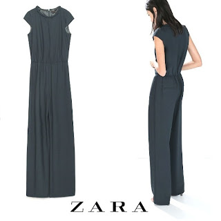 ZARA Flowing Jumpsuit with Belt