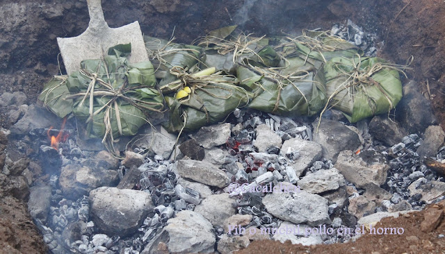 horno bajo tierra para los pibes en Yucatán