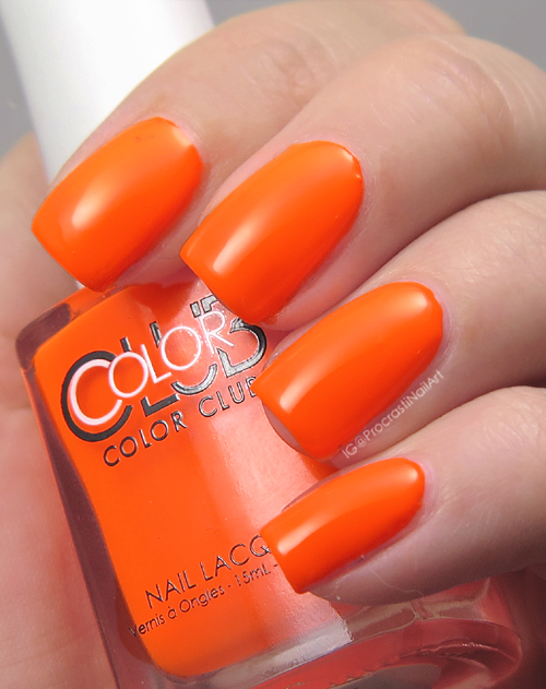 Swatch of Color Club Koo-Koo-Cachoo
