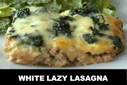 #The #World's #most #delicious #White #Lazy #Lasagna