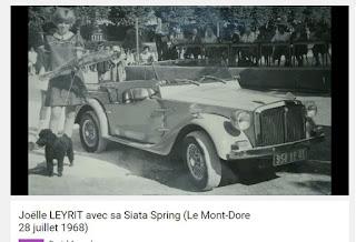 concours d'élégance du Mont-Dore, Auvergne.