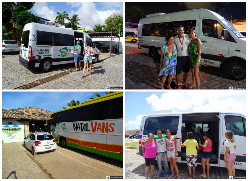 Transfer e passeios em Natal (RN) com a Natal Vans