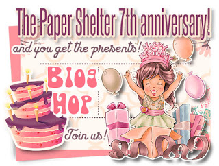 The Paper Shelter 7th Birthday Blog Hop