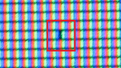 Tips Cara Perbaiki Monitor Komputer, Laptop Yang Bergaris Dead Pixel