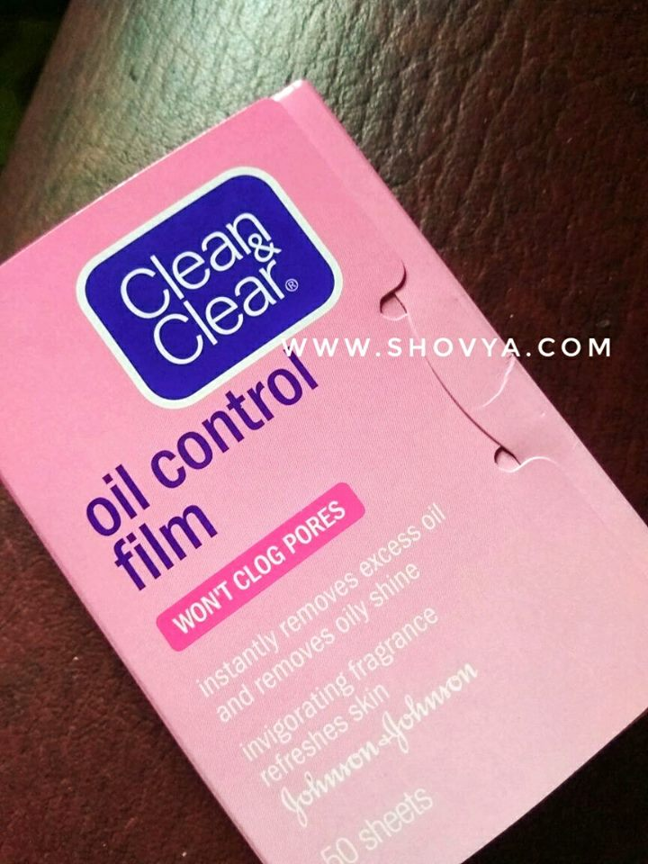 Review Clean Clear Oil Control Film Little Deers Blog