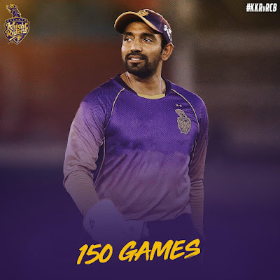 Robin Uthappa HD Images In KKR