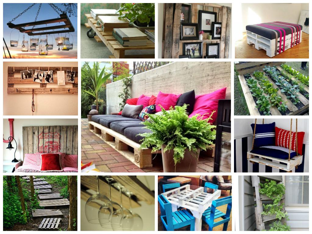 Rogiamblog come arredare con i pallet e realizzare mobili - Idee per realizzare un giardino ...