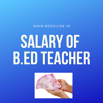 salary of B.ed college lecture