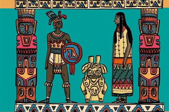 libri per bambini civiltà precolombiane