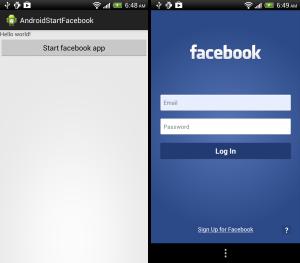 Cách cài đặt facebook