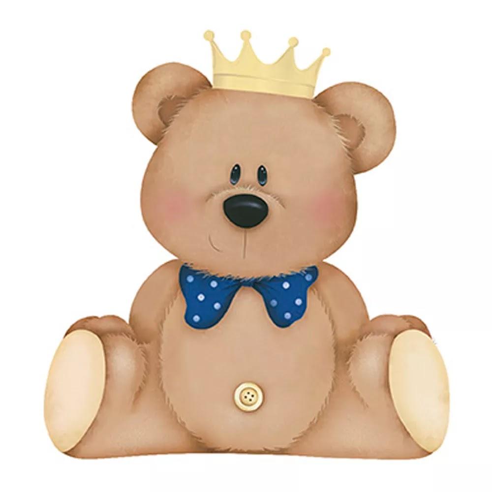Convites Silverbeco: Ursinho Príncipe