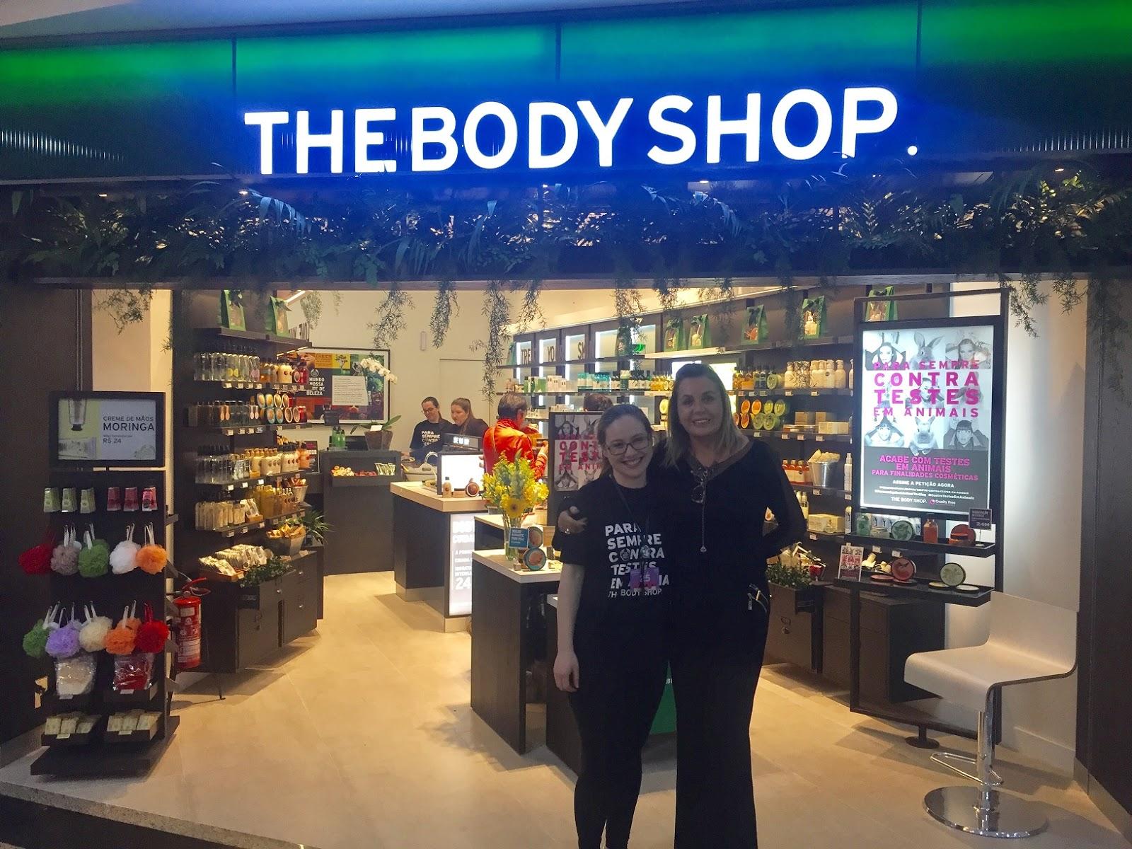 068f576064076 Agora a empório Body Store virou The Body Shop. A primeira marca de beleza  a se inspirar na natureza para buscar os melhores ingredientes do ...