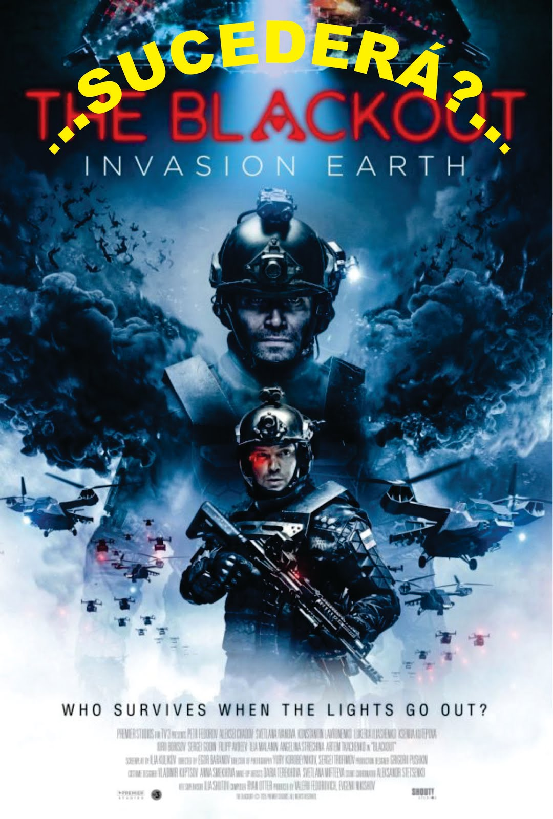¡APAGÓN MUNDIAL!- The Blackout: Invasion Earth Trailer: Extraterrestres que se esconden...