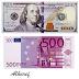 أسعار (الدولار واليورو) مقابل الدينار الليبي اليوم الجمعة 29 ديسمبر 2017