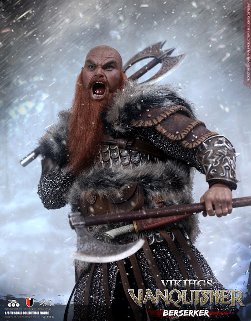 osw.zone Check out COOMODEL SE017 1 / 6th Viking Berserker conqueror 12 inch collectible figure