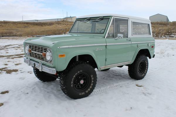 Forest Green 1973 Ford Bronco Ranger | Auto Restorationice