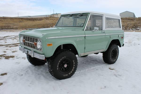 Ford Bronco For Sale Craigslist >> Forest Green 1973 Ford Bronco Ranger | Auto Restorationice