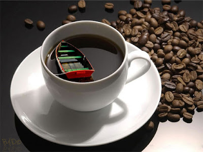 cana cafea barca