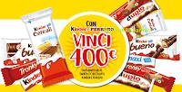 Logo Con Kinder e Ferrero vinci 80 forniture di Snack