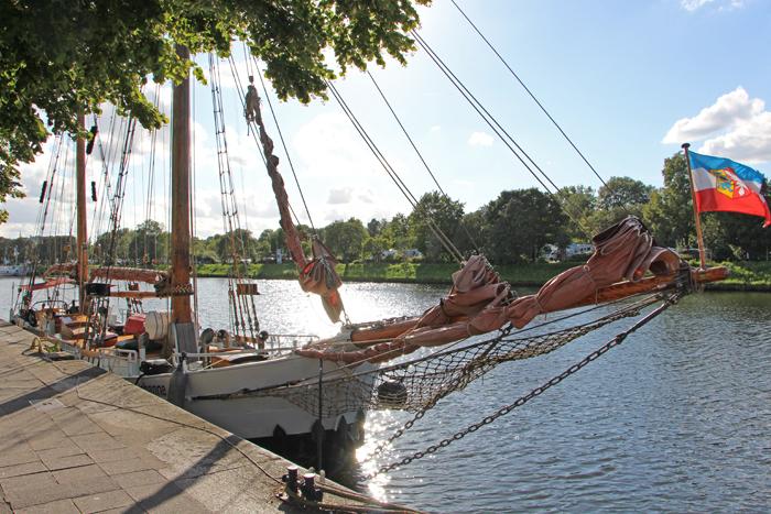 Schiff Johanne in Lübeck