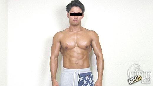 オナ禁2週間!!久しぶりのチ◯ポへの性的刺激がバッキバキ筋肉ノンケを変態快楽主義者へと変貌させた。