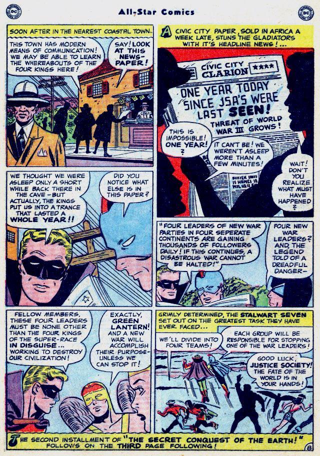 Read online All-Star Comics comic -  Issue #52 - 9