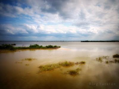 Laguna Rosada Yucatán Mexico
