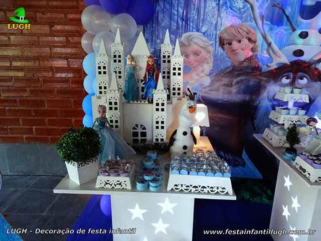 Festa Frozen - aniversário infantil