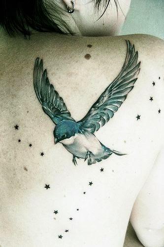 vemos un tatuaje sencillo y femenino y para chicas