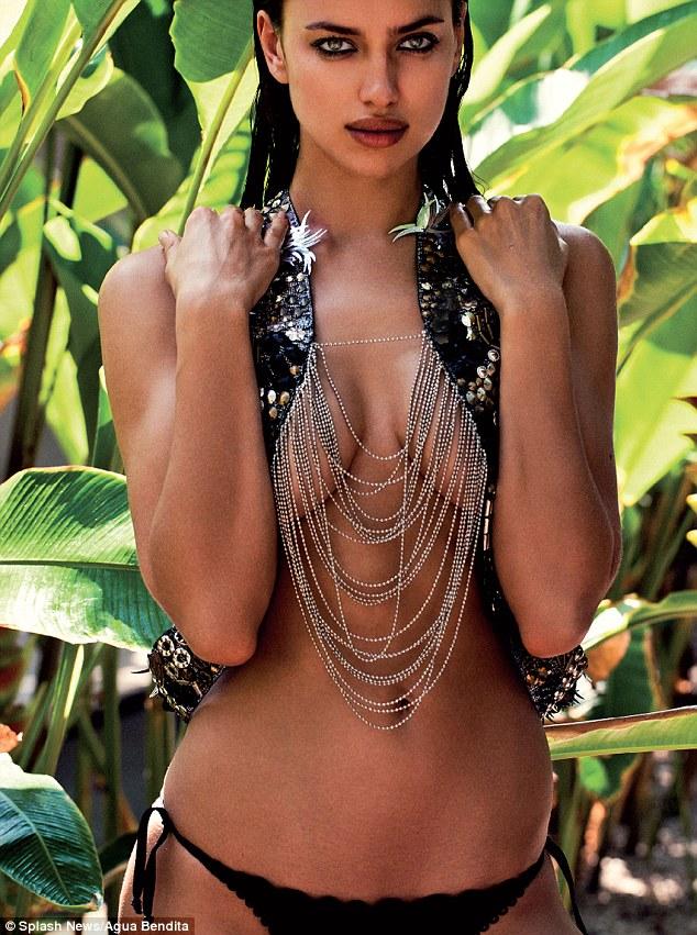 7bce8a72a4 Agua Bendita Swimwear 2013 has Irina Shayk in a series of daring swimwear  looks