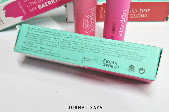 ingredients wardah lip tint