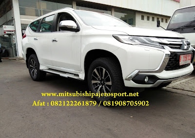 all new pajero sport dakar putih - hitam 2016