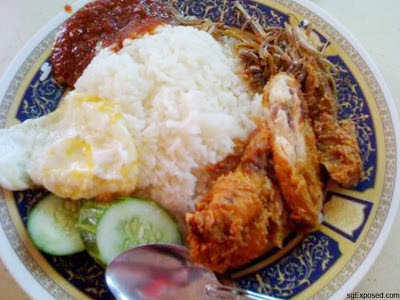 The Famous Changi Village Nasi Lemak
