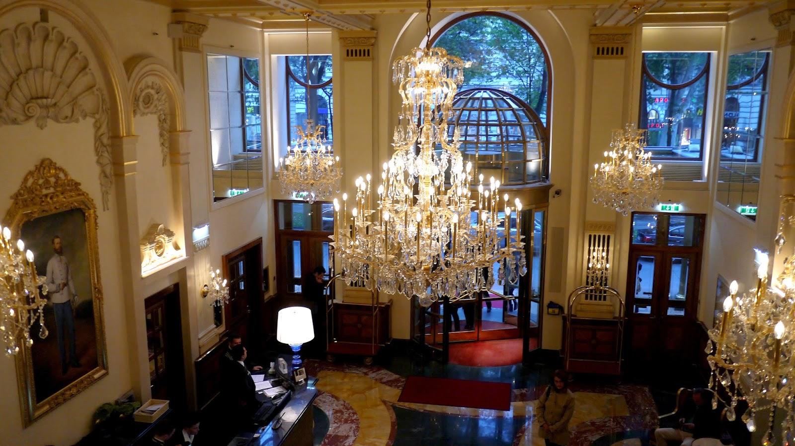 hotel imperial lobby vienna