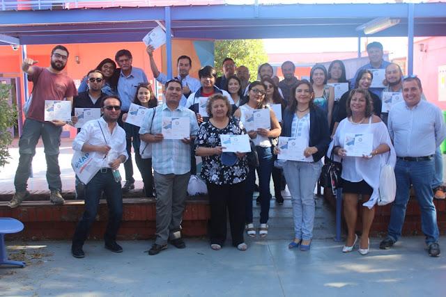 Colegio de Periodistas capacitó sobre las buenas prácticas en redes sociales a colegas de Calama