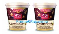 Logo Novi: vinci gratis un barattolo di Crema da 5 kg.
