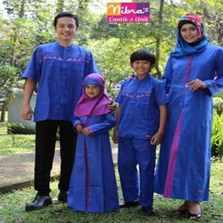 contoh baju lebaran untuk keluarga