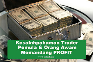 kesalahpahaman ketidaktauan kegagalan trader pemula orang awam profit dalam dunia trading saham forex money management pengaturan lot