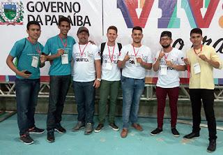 Alunos da EEEM prefeito Aguitônio Dantas de Frei Martinho conseguiram a 2ª colocação na etapa final da ROBOTEC em Campina Grande