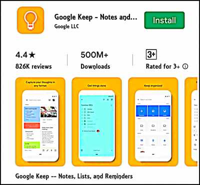 Google Keep For Online Notepad App For Content Creator
