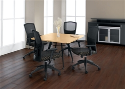 Global Total Office Square Top Table
