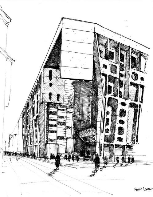 Cl sicos de la arquitectura banco de londres 1960 sepra for Diseno de interiores buenos aires