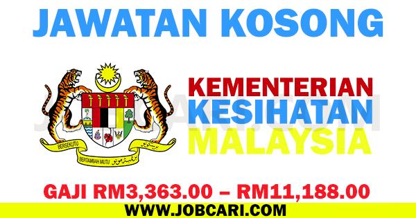 JWATAN KOSONG KEMENTERIAN KESIHATAN MALAYSIA